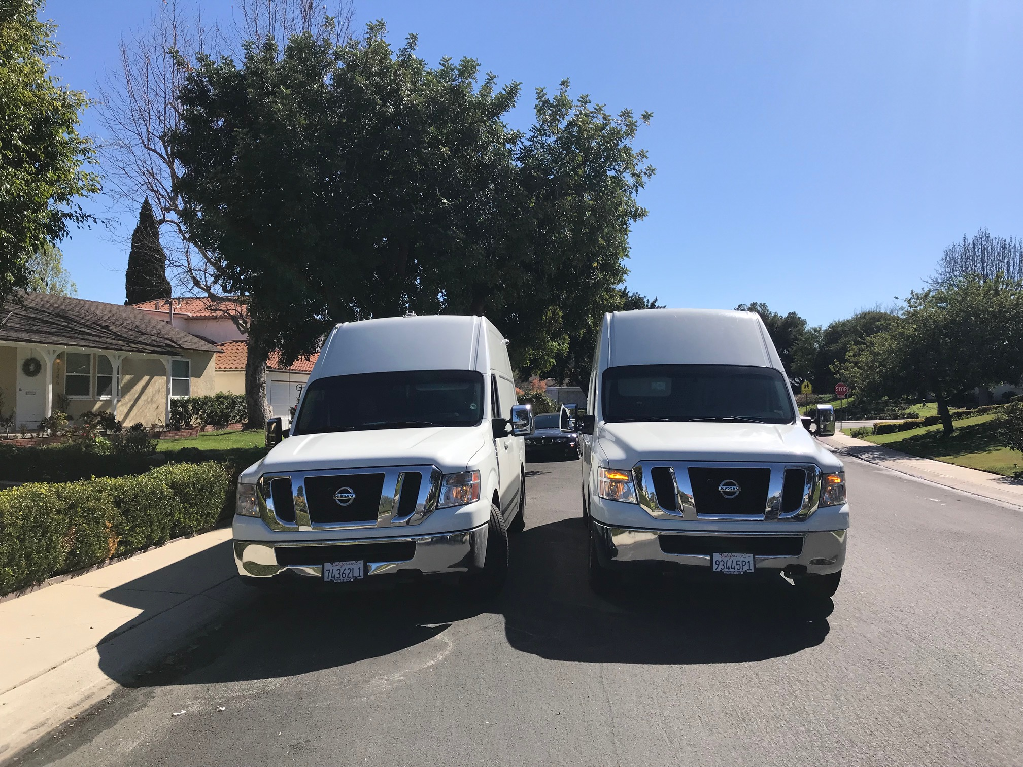 Andy's Locksmith Work Trucks